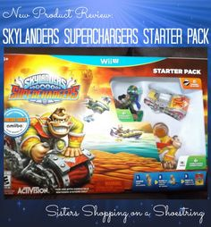 Skylanders Superchargers  My kids were absolutely thrilled to have the opportunity to review the new Skylanders SuperChargers game that recently came out. They are huge Skylanders fans, and they were so excited to find out what's new, what's cool, and what's improved with this latest version