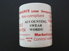 funny gift mug for my accountant
