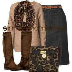 """FALL"" by simpleandmodest on Polyvore"