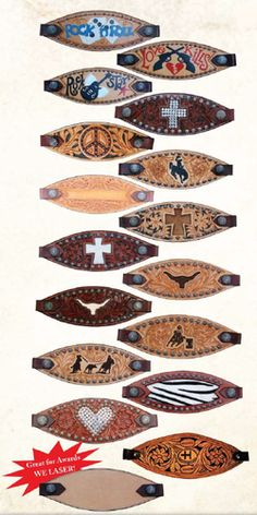 In love with bronc halters