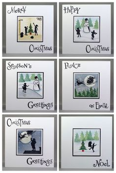 Lynne's Crafty Little Blog: My Wee Folk Christmas Cards - July's Claritystamp ...