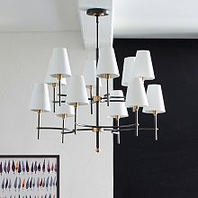 "Dining Room Light Height Classy Waverly 25"" Wide Aged Brass Silken Black Chandelier  Mary Design Decoration"
