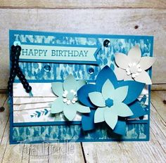 Hello and welcome to One Stamp At A Time's September Birthdays Bash Blog Hop! If you have already been hopping then you should have la...