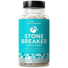 STONE BREAKER Chanca Piedra - Kidney and Gallbladder Detoxifying Cleanse - Discomfort, Nausea, Urinary Health - Hydrangea & Celery Seed - 60 Vegetarian Soft Capsules Gallbladder Cleanse, Kidney Detox Cleanse, Liver Cleanse, Beyond Diet Program, Liver Detox Supplements, Healthy Kidneys, Kidney Health, Perfume, Natural Detox