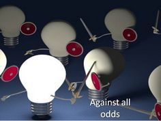 Idioms with One way to languages against all odds - although there are great difficulties
