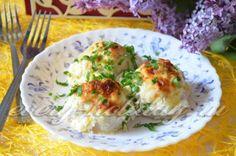 Тефтели куриные в сливочном соусе с сыром