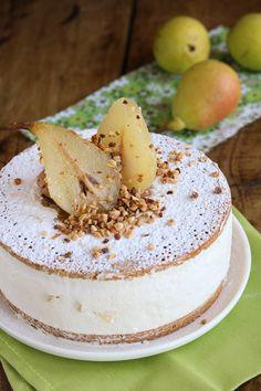 Pear Recipes, Wine Recipes, Italian Recipes, Sweet Recipes, No Bake Desserts, Delicious Desserts, Cake Cookies, Cupcake Cakes, Italian Cake