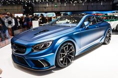 Mercedes-Benz S63 AMG Coupe Diamond Edition Mansory 2015_Geneva