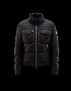 2015 Moncler Edouard Trim Fit Down Jacket Black a081123d8ea