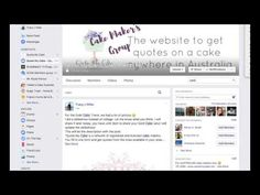 How to Find Customers on Facebook Groups   Angel Foods   A lot of people are looking for cake makers on Facebook, actually people are looking for a lot of thing on Facebook! It's like the new shopping centre or market! You want to take advantage of those business opportunities but you don't want to waste too much time.