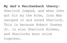 The sherlocks need to stick together