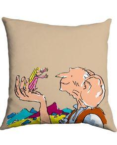 Roald Dahl Cushion BFG