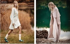 visual optimism; fashion editorials, shows, campaigns & more!: jane kuijck by thanassis krikis for madame germany february 2015