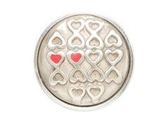 Noosa Ametié chunks |  Ametié is het magische symbool voor vriendschap. De twee harten naast elkaar symboliseren de verbondenheid van twee zielen.