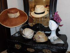 Curso de Sombrerería de diferentes tipos de paja y algunas técnicas mas de sombrerería. Realizada por una alumna