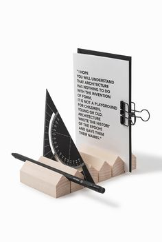 Wooden Architecture Stationery - Cinqpoints
