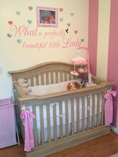 Lady and the Tramp crib. What a perfectly beautiful little lady