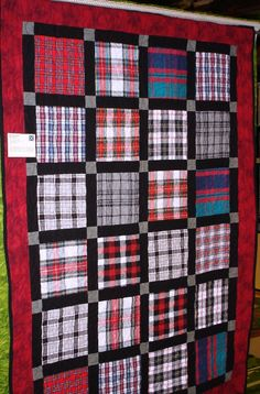 Stars of Valor Quilt Pattern Flannel Quilts, Plaid Quilt, Boy Quilts, Scrappy Quilts, Shirt Quilts, Man Quilt, Patch Quilt, Quilt Blocks, Quilting Board