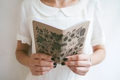 Floral pocket size notebook by oanabefort on Etsy, $7.85