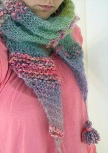 Flamboyant Scarf free knitting pattern and more lacy scarf knitting patterns