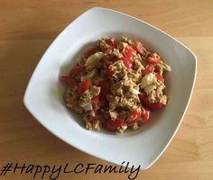 Tomaten-Avocado-Tunfischsalat