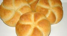 Császárzsemle recept | APRÓSÉF.HU - receptek képekkel Hungarian Cuisine, Hungarian Recipes, Hungarian Food, Pastry Recipes, Bread Recipes, Exotic Food, Bread And Pastries, Bread Rolls, Dough Recipe