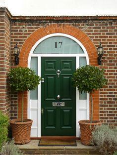 Gorgeous London Door Company door within a mews development - the ...