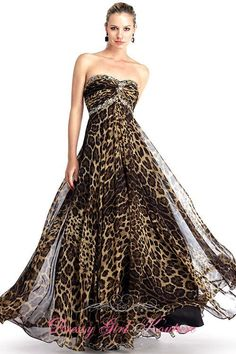 Colors Dress 0722  appealing #leopardprint #homecomingdress2013 by Colors Dress