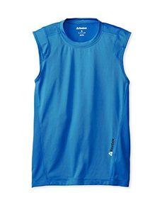Reebok Men's Sleeveless Tee (Blue Sport/Blue Sport)