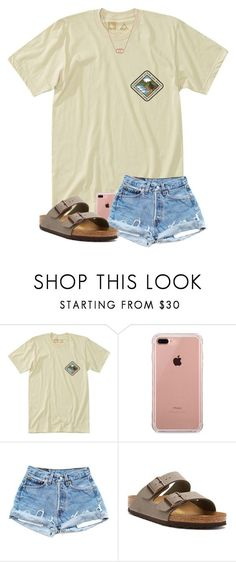 featuring HippyTree, Belkin, Birkenstock and Kendra Scott Cute Outfits For School, Cute Summer Outfits, Cute Casual Outfits, Outfits For Teens, Casual Clothes, Summer Clothes, Grunge Outfits, Teen Fashion Outfits, Girl Outfits