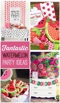 32490a8cad4 10+ Super Cute Watermelon Party Ideas