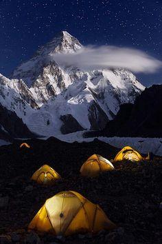 Mountain Camping.