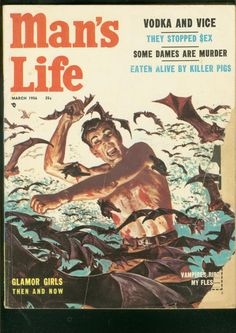 Vampires ripped my flesh. These magazine covers are just ridiculous:)