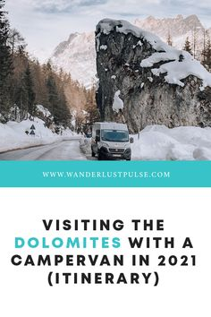 Dolomites Itinerary - Visiting the Dolomites with a Campervan in 2021 (Itinerary) Travel Tips For Europe, Road Trip Europe, Travel Around Europe, Europe Destinations, Amazing Destinations, Road Trips, Cool Places To Visit, Places To Travel, London Travel