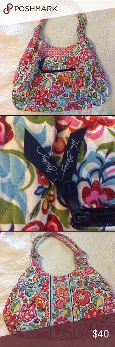 Vera Bradley Purse Vera Bradley Purse. Just in time for the summer season. This is a beautiful VB pattern for spring and summer. Great condition. No tears. Minor soiling in the handles. Vera Bradley Bags Shoulder Bags
