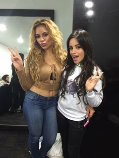 """""""New/Old photo of Camila and Dinah Jane [x] """""""