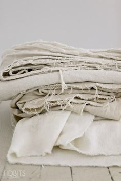 a tried and true method for how to bleach a drop cloth to create affordable