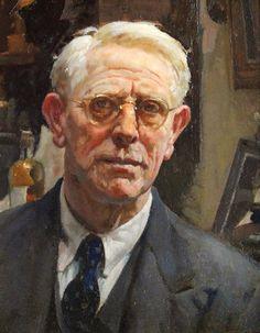 "'WILLIAM CHARLES PENN"" Self Portrait.(British 1877 - 1968) (91)"