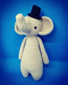 In this article I will share a wonderful amigurumi pattern again. You can enjoy this beautiful amigurumi elephant free english pattern.  Materials  Yarn Pekhorka children's novelty,  1 skein of the main color, half  skein of a different color  Hook 1.5-1.75 Main Colors, Different Colors, Elephant Pattern, Free Pattern, Dinosaur Stuffed Animal, English, Animals, Beautiful, Patterns