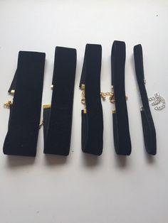 Velvet choker necklace by FashioneditStudio on Etsy