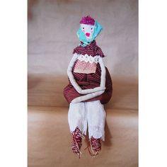 Olga cloth doll - Eagle and Phoenix Goods etsy