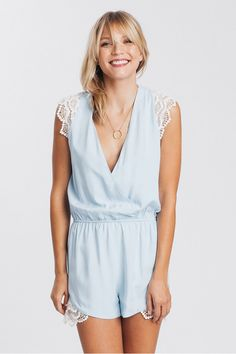 Lace Olivia Jumpsuit - multiple colors! from Karen Zambos
