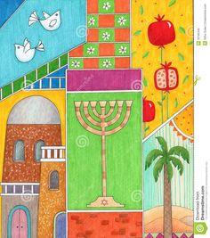 ... -jewish-new-year-card-32185345.jpg