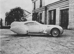1936 Labourdette Delage V12 Vutotal Aerodynamique