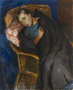 Alvar Cawen - The Convalescent, 1923 - Frans Alvar Alfred Cawén (Finnish 1886 – 1935)