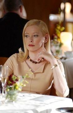 Pamela Gidley wearing Brevard's 18K Citrine and Tahitian Pearl Necklace . . . . #leebrevard #HouseOfBrevard