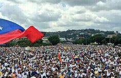 Caraqueños salieron a las calles para la Toma de Venezuela