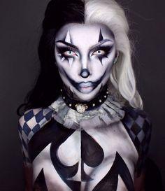 Creepy Halloween Makeup - Miladies.net