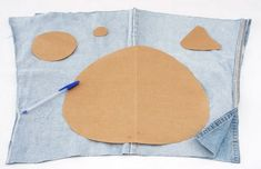DIY Funny Jeans Pillows