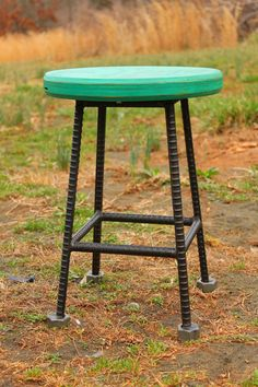 ReBarstool Rebar Industrial Seating 18 by RaindropsInVirginia